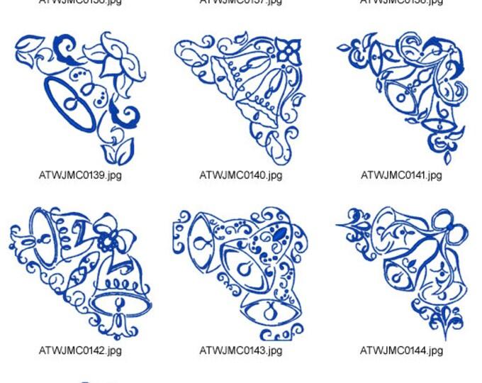 Art-Deco-Bell-Corners ( 10 Machine Embroidery Designs from ATW ) XYZ17B