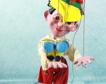 Vintage Pelham Puppet Pinocchio Marionette with original box