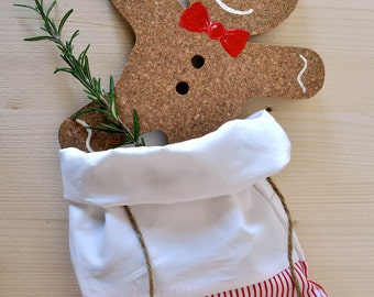 trivet, sottotegame, gingerbread, Christmas gift, set the table, little biscuit, bread