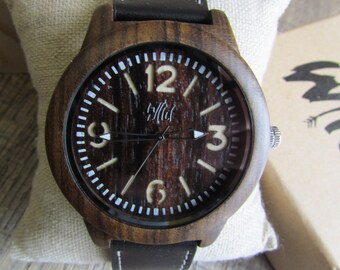 engraved watch engraving wood watch personalized watch engraved watch mens watch mens gift custom watch watch for men watch for him mn30
