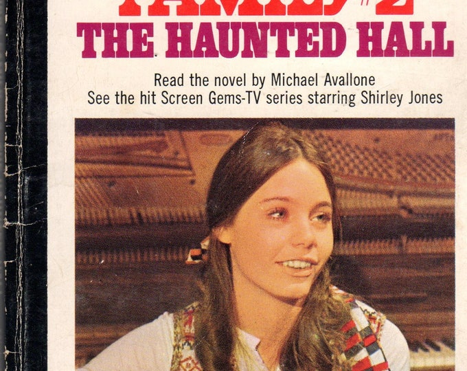 1970 The Partridge Family The Haunted Hall PB Book # 2 series TV Photo Cover Susan Dey