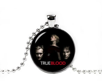 True Blood Necklace True Blood Pendant Sookie Bill Eric Northman Vampires Fangirl Fanboy