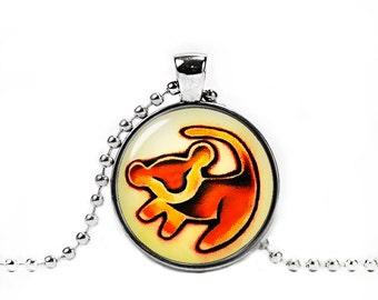 Simba Lion King Necklace Simba Lion King Pendant Fangirl Fanboy