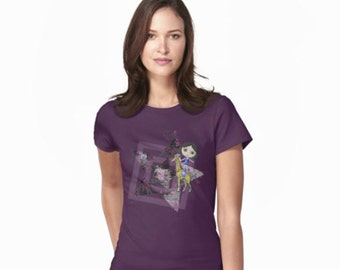 Life As A Circus Superstar Women's Short-Sleeve Fitted T-Shirt