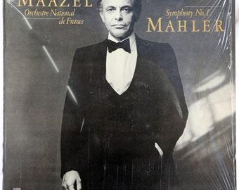 Lorin Maazel, Mahler, Symphony No. 1, CBS Masterworks 35886 - Vinyl - 1981