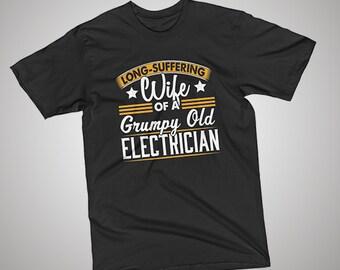 Electrician Grumpy Old T-Shirt