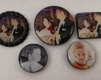 A Personalised Needleminder / Your photograph Needleminder / Your Image Needleminder