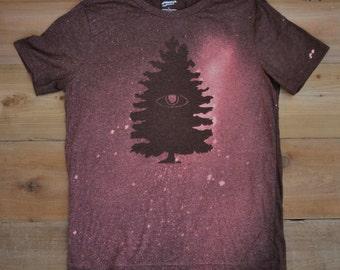 Fir Tree with Eye Brown Bleached Shirt
