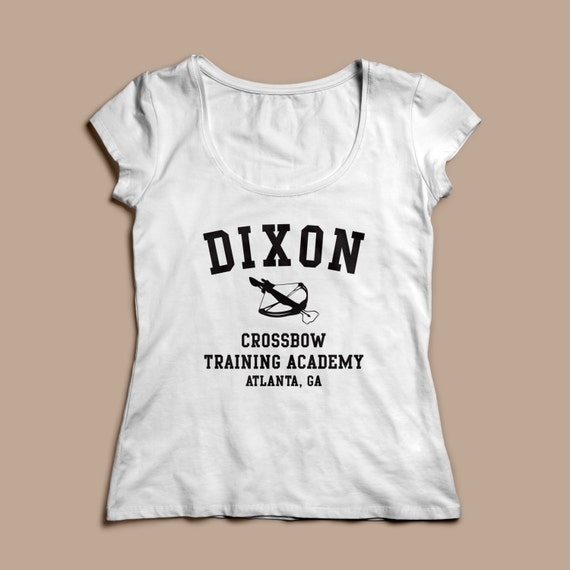 "The Walking Dead ""Dixon Crossbow Training Academy""  Women's Shirt S-2XL Available TWD"
