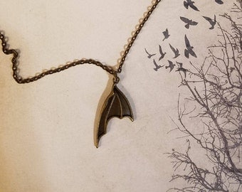 Bat Wing Necklaces