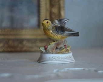 Little Vintage Bird Figurine