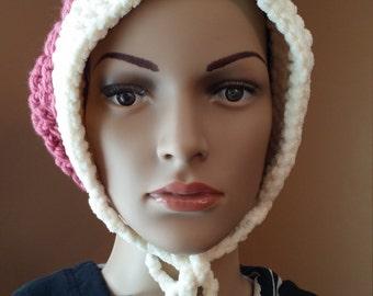"Sale***Crochet hat, ""Enchanted Dream mini slouch"""