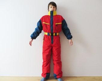 One piece ski suit | Etsy