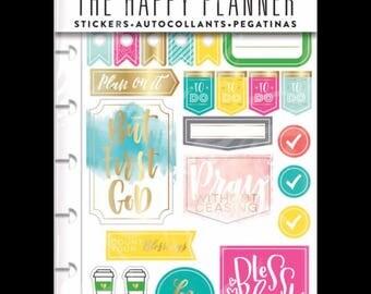 The Happy Planner Sticker Pack - Faith Gratitude