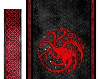 Targaryen Lifesize banner: Vinyl and Fabric