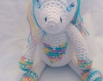 Unicorn, Crochet Unicorn, Unicorn Amigurumi, Unicorn Gift, Crochet Unicorn Doll, Unicorn Stuffed Animal, Unicorn Plush, Crochet Stuffed Toy
