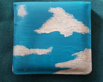Clouds Pocket Ashtray