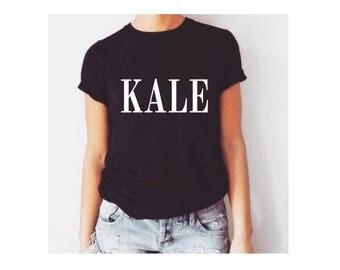 Kale shirt, veganism shirt, kale top, kale tee, cute vegan shirt, cute vegan t-shirt, funny vegan t-shirt, funny kale, kale tshirt