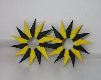 2pcs Origami Star Ornament / Home Decor / Paper Ornament / Christmas Decoration / Party Decoration