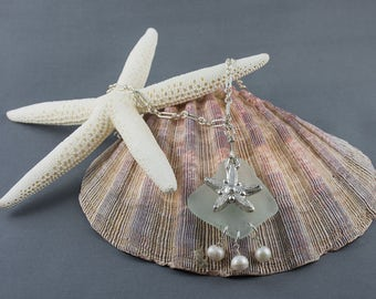 A Silver Starfish Necklace