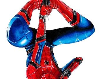 Spiderman Homecoming - Matte Print