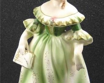 Vintage Porcelain Choir Girl Figurine
