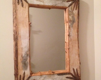 Birch Bark Mirror #3