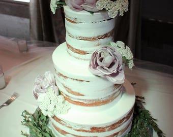 Rustic Wedding Cake Decorations
