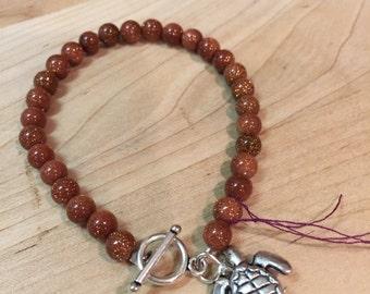 Bracelet - goldstone