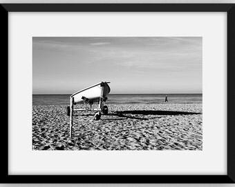 wall art Black & White Photography -Boat photo digital download parete stampa foto arredamento casa boat stock hi contrast monocromatico