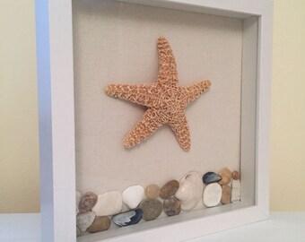 Beach Shadow Box, Beach Decor, Coastal Home, Home Decor, Beach House Decor, Coastal Gift, Coastal Beach, Cape Cod