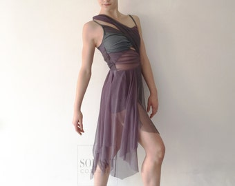 """Contemporary/ Lyrical Dance Costume """"Inside Out"""""""