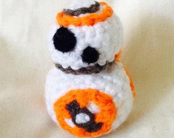 BB-8 Tiny Amigurumi Crochet