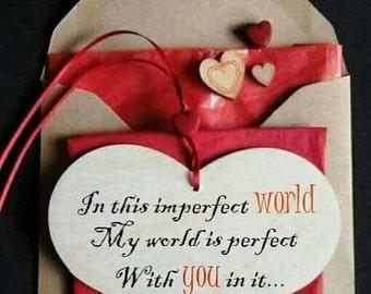 Valentine card, romantic valentines day card, valentines for him, husband valentine card, boyfriend valentines, cards for her, wife card