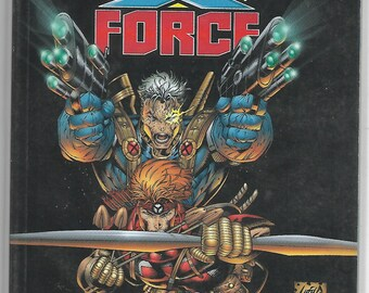 YOUNGBLOOD/X-FORCE Trade Paperback Rob Liefeld Cover  1996
