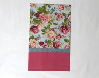 Flower Design Standard Size Decorative Pillowcase