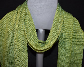Handwoven Scarf - Tencel/Silk