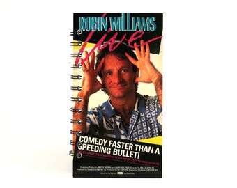 Robin Williams Live Notebook | Recycled VHS