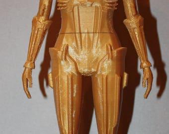 "Metropolis Robot ""Maria"" 3D Printed"