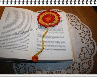 """Big flower"" bookmark"