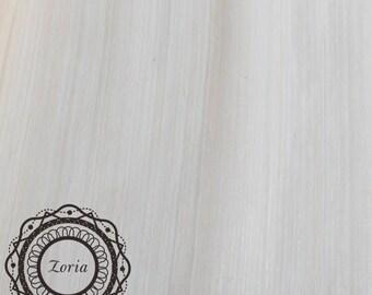 "6x6"" Sample Swatch of Natural Silk Banana Fabric Sinamay Millinery Fabrics | CC-PAS001"