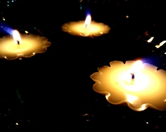 Floating Candles Pack of 6