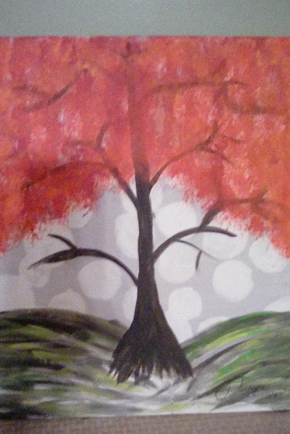 Autumn Leaves Fall Tree