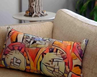 Cellular Life Design Cushion
