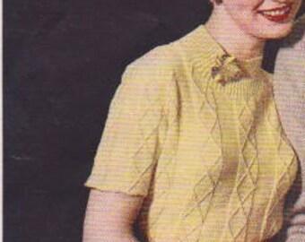 1950s Ladies Turtleneck