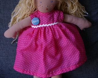 Girl rag doll - Bea