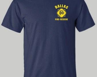 Dallas Fire - Rescue shirt, Fire Rescue shirt