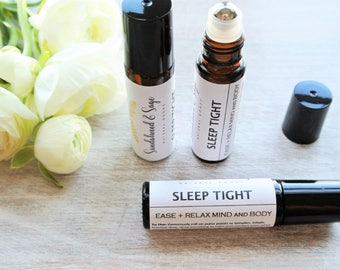 Sleep Roll-on // Natural Sleep Remedy // Relaxing Oil Roll-on // Calming Oil Roll-on // Natural Essential Oil Roll-on