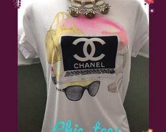 SALE!! Chanel fashion t-shirt