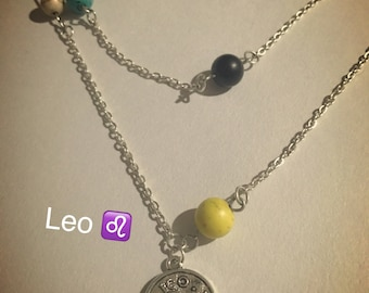Leo and the solar system necklace